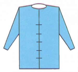 blouse front open ( Tie band )